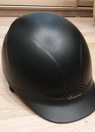 Шлем fouganza для конного спорта, верховой езды 53-55см