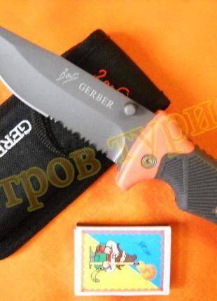 Нож складной gerber folding sheath knife ps