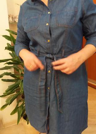 Джинсовое платье  dorothy perkins.