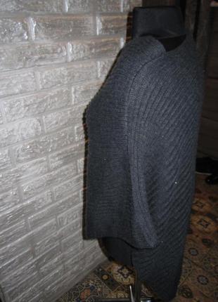 Вязанная накидка (пончо, разлетайка)  70грн