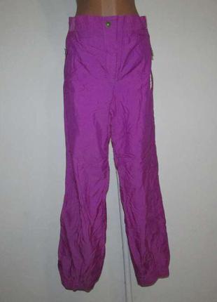 Лыжные штаны италия, le ski, утепленные, в поясе 40-45 см, как новые!