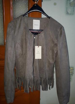 Куртка косуха жакет бахрома  от бренда numph