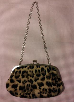 2 в1,сумочка - клатч, косметичка  new look