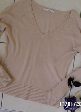 H&m m-l джемпер светр