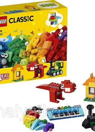 Конструктор lego classic 11001 модели из кубиков - 123 дет