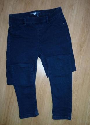 Стильные скини джинсы на резинке