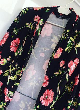 Кардиган в цветы new look