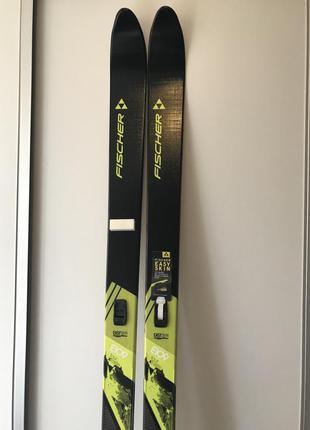 Новые туристические лыжи fischer