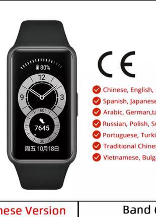 Новые фитнес браслет,часы,смартфон huawei band 6