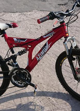 Подростковый велосипед azimut