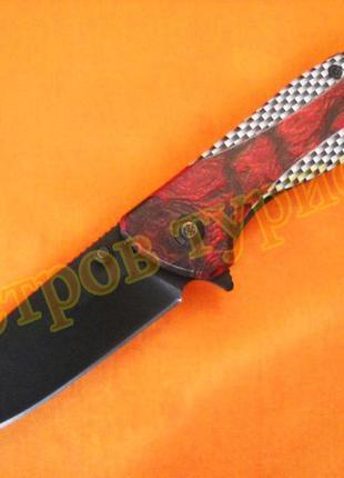 Нож складной  330 металлическая рукоять
