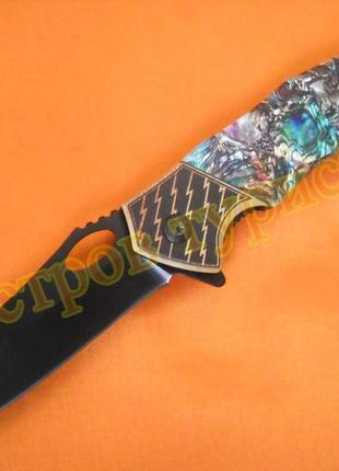 Нож складной  f410 полуавтомат