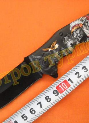 Нож складной  b048  indian