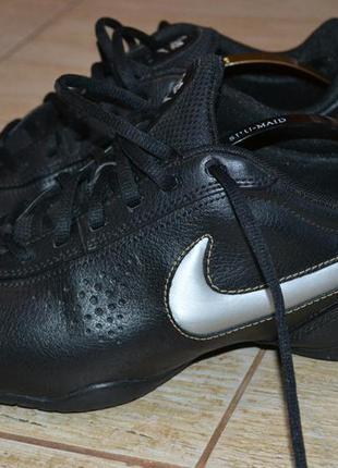 Nike air 41р кроссовки кожаные, демисезон, оригинал.