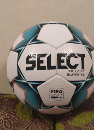 М'яч футбольний select brillant super tb fifa approved мяч футбольный