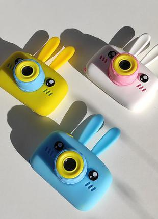 Детский фотоаппарат children's fun зайка