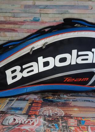 Чехол для ракеток babolat rh x3 team line