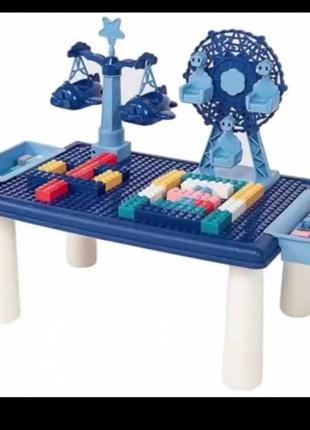 Детский игровой конструктор - столик