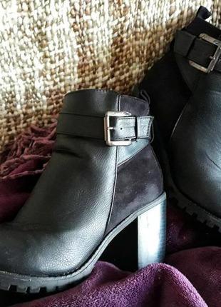 Стильные ботинки от new look демисезон
