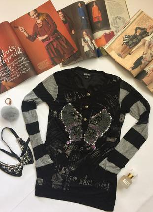 Кофта рубашка с бабочкой john galliano