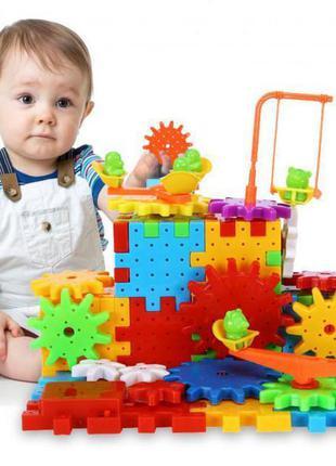 Детский развивающий 3d конструктор фанни брикс funny bricks 81 деталь foxdemo