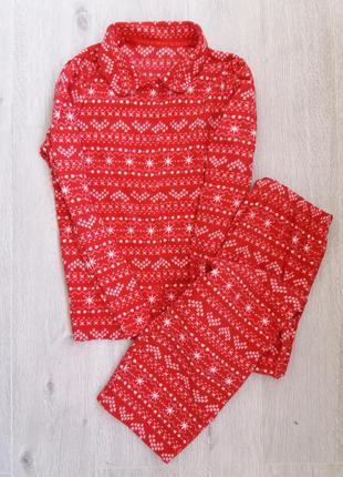Теплая пижама, комплект xs-m