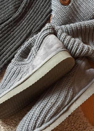 Чобітки вязані