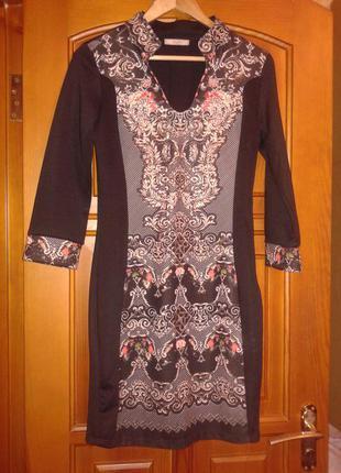 Вечернее платье прямого силуета