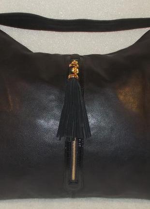 Большая сумка *modalu london* натуральная кожа.