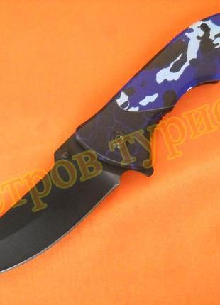 Нож складной  390bl полуавтомат