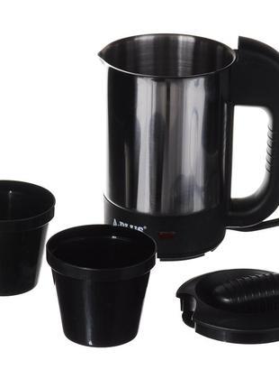 Автомобильный чайник a-plus 0.5 л (1649) с чашками