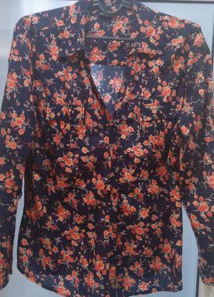 Блуза-рубашка х\б