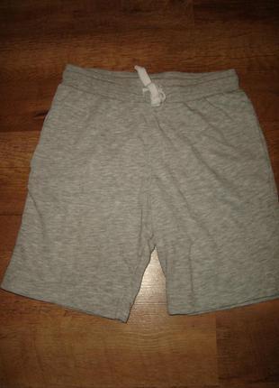 Трикотажные шорты h&m на  7-8 лет