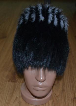 Меховая шапка2