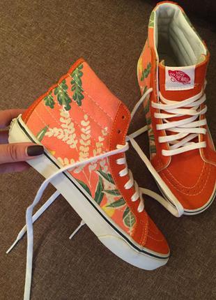 Кеды сапоги ботинки vans