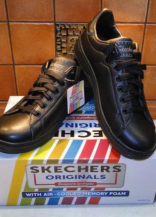 Новые кожаные кроссовки skechers, размер 8, 5