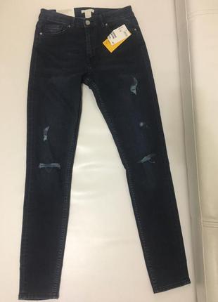 Модные джинсы-скинни h&m