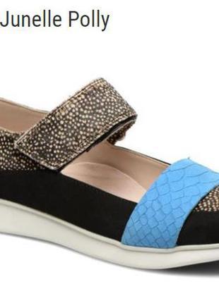 Кожаные туфли clarks junelle polly размер 37, 37. 5