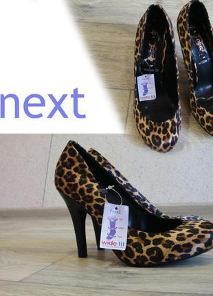 Новые туфли от фирмы next размер 37,5 с биркой