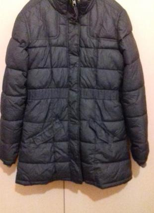 Куртка пальто на синтепоне пуховик.h&m
