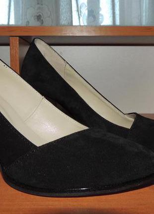 Новые стильные туфли soldi, натуральная замша