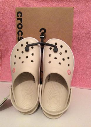 Новые оригинальные кроксы crocs crocband все размеры