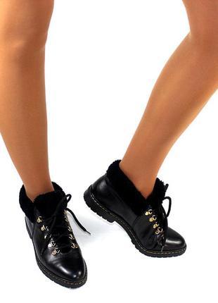 Ботинки 39 р l.lambertazzi италия кожа оригинал зима