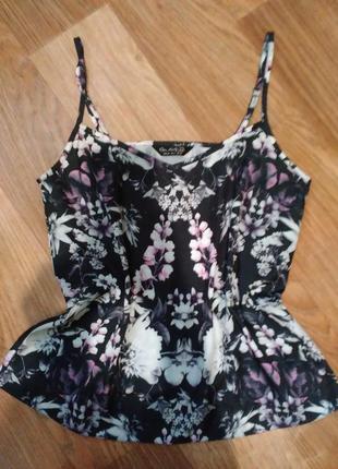 Блуза в бельевом стиле miss selfridge