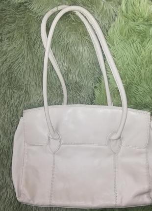 Кожаная сумка от f&f
