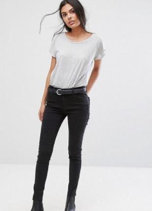 Нереальные джинсы скинни с необработанными краями pieces asos