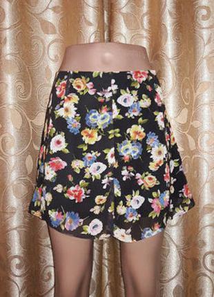Легкие женские шорты-юбка atmosphere