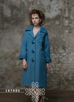 Французское кашемировое пальто eleni viare р-р 54-56