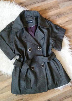 Пальто жакет без рукавов