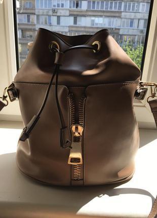 Фирменная сумка-рюкзак zara